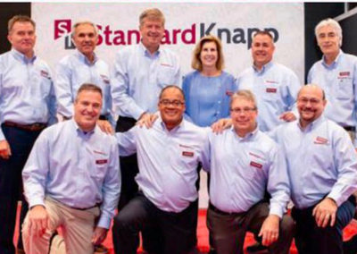 The Standard-Knapp team: experts in case and shrink pack machinery!