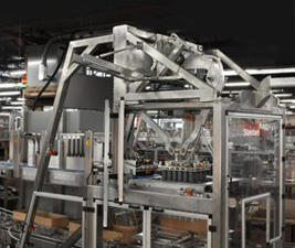 Standard Knapp's 939S Versatron™ case packer with Pic-N-Place module