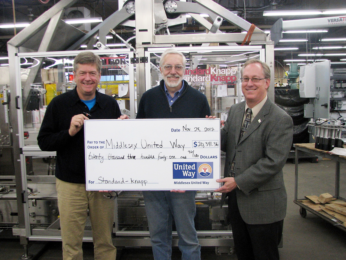 Standard-Knapp Completes Successful United Way Campaign