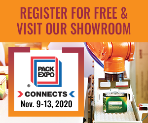 Free Registration for Pack Expo Connects
