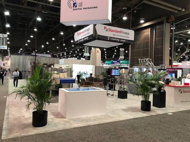Pack Expo booth 2021
